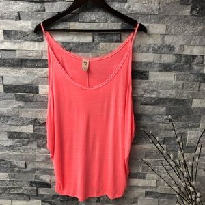New we the free tank top size M